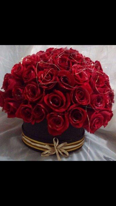 Hermosa caja de 200 Rosas en el color de su preferencia
