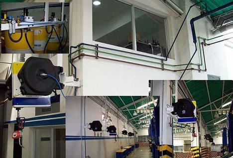 Diseño y construcción de sistemas de generación, tratamiento y distribución de aire comprimido