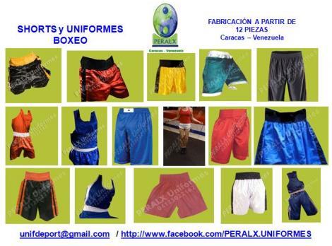 BOXEO FRANELAS Y UNIFORMES