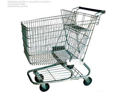 Carro mediano para supermercados